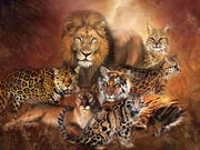 32 Beautiful Wild Animal Paintings,Lions,Tigers,Wolves,Bears, and more in this long slide show, By various artist 20.0 MB