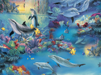 A 28 Picture slide show of the mystical Under sea Fantasy world and the creatures who live there16.80 MB